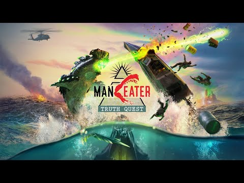 Maneater - Truth Quest DLC - Gameplay Walkthrough (FULL DLC, 100% Completion)