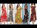 Fabulous And Elegant Stylish Floral Print High Low Hem Party Wear Maxi Dress Design/Fashion Diaries