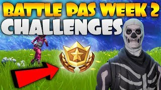 FORTNITE SEASON 4 SEMAINE 2 CHALLENGES - BATTLE PASS GIVEAWAY