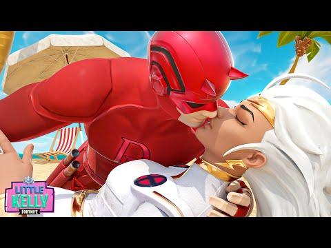 DAREDEVIL IS SEDUCED BY STORM'S KISS | Fortnite Short Film