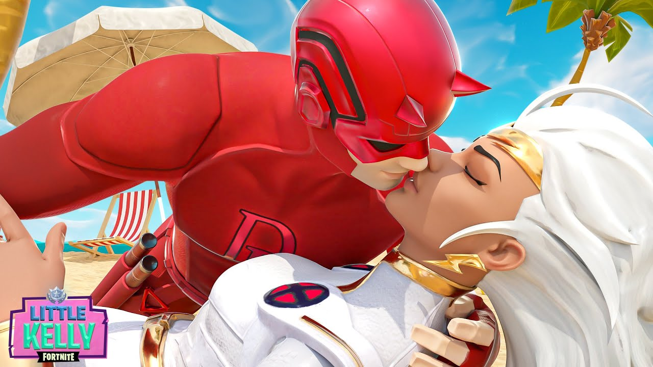 DAREDEVIL IS SEDUCED BY STORM'S KISS | Fortnite Short Film