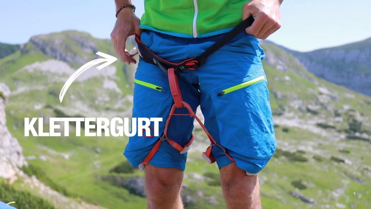 Klettersteig Equipment : Klettersteig gehen das passende equipment youtube
