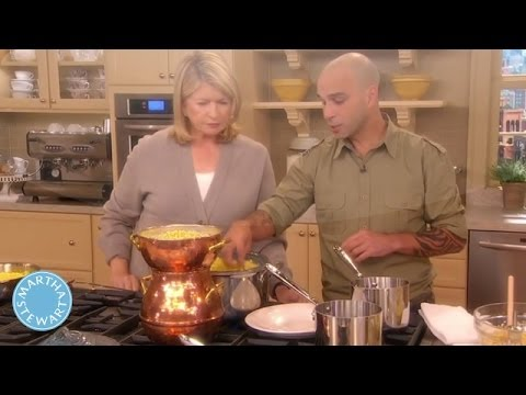 Homemade Moroccan Couscous With Chef Mourad Lahlou - Martha Stewart