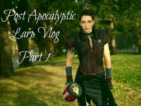 Living in a post apocalyptic world - a real life LARP vlog