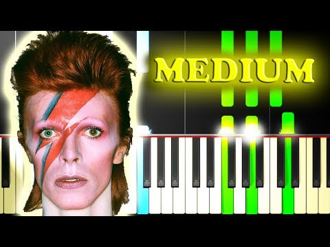 DAVID BOWIE  SPACE ODDITY  Piano Tutorial