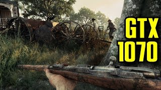 Hunt Showdown v0.128 Early Access GTX 1070 OC & i7 6700k | 1080p Maxed Out | FRAME-RATE TEST