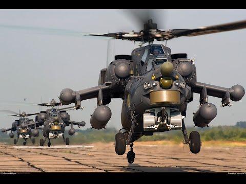 Ударный вертолет Ми-28н.