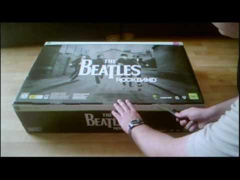 Unboxing The Beatles Rock Band Limited Edition Bundle (UK