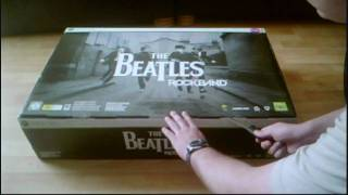 Unboxing The Beatles Rock Band Limited Edition Bundle (UK)