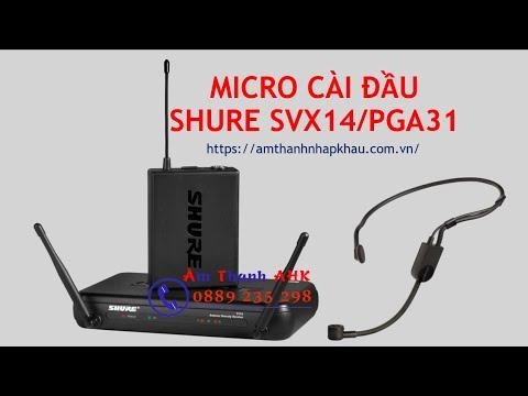 Micro đeo tai, micro cài đầu giá bao nhiêu? 1