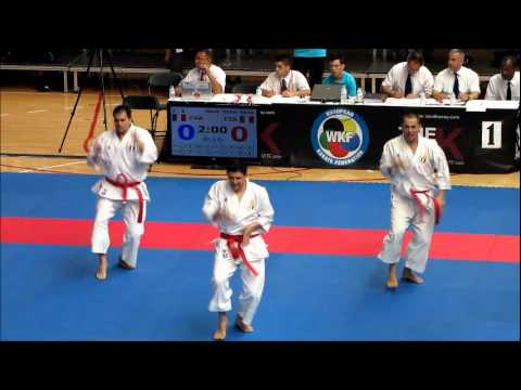 Team Kata UNSU by ITALY - 47th EKF European Karate Championships