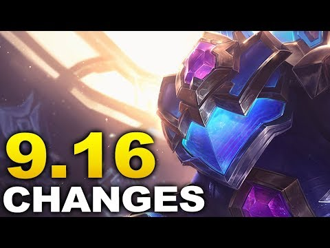 BIG new changes coming soon in Patch 9 16 (Riven/Ezreal nerfs