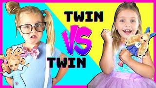 Twin VS Twin Doll Makeover Party Fail with Kin Tin! NEW Fail Fix Dolls!!