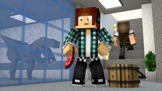 Minecraft : NOVO LABORATÓRIO DE DINOSSAUROS !! - ARK CRAFT SURVIVAL #33 thumbnail