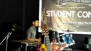 M. Alif Syahputra - Improvisation Drum Solo (murid kursus drum)