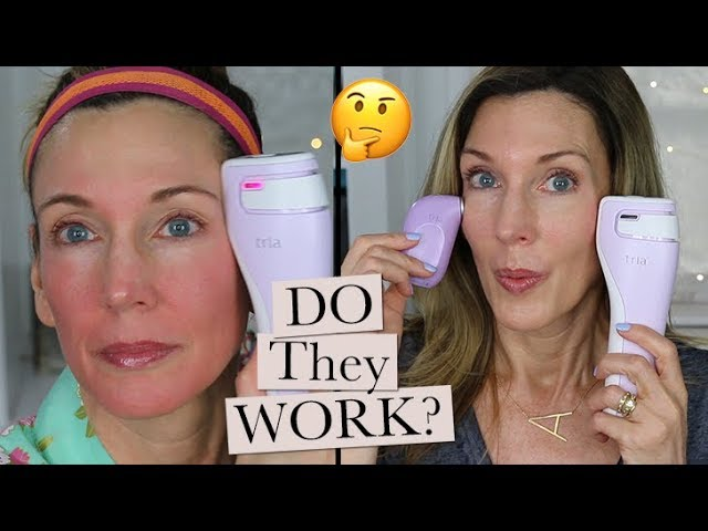 Tria At Home Laser Review Before After Wrinkle Results Youtube
