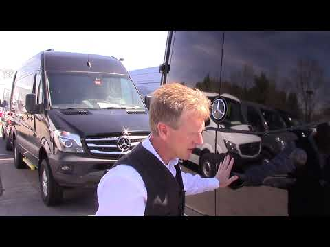 2017 Mercedes-Benz Sprinter 3500 4x4 170 Wheel Base review with Roger
