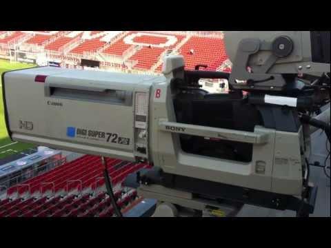 Camera setup for Toronto FC MLS on TSN broadcast