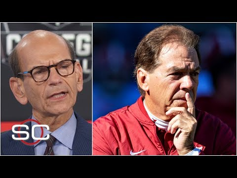 Paul Finebaum Blames Nick Saban For The Alabama Loss Vs. Auburn | SportsCenter