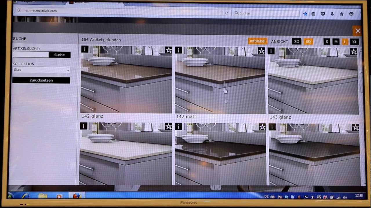 Arbeitsplatten Konfigurator Kuchenwohntrends 2016 Live Youtube