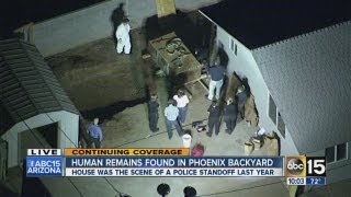 Human remains found in Phoenix backyard