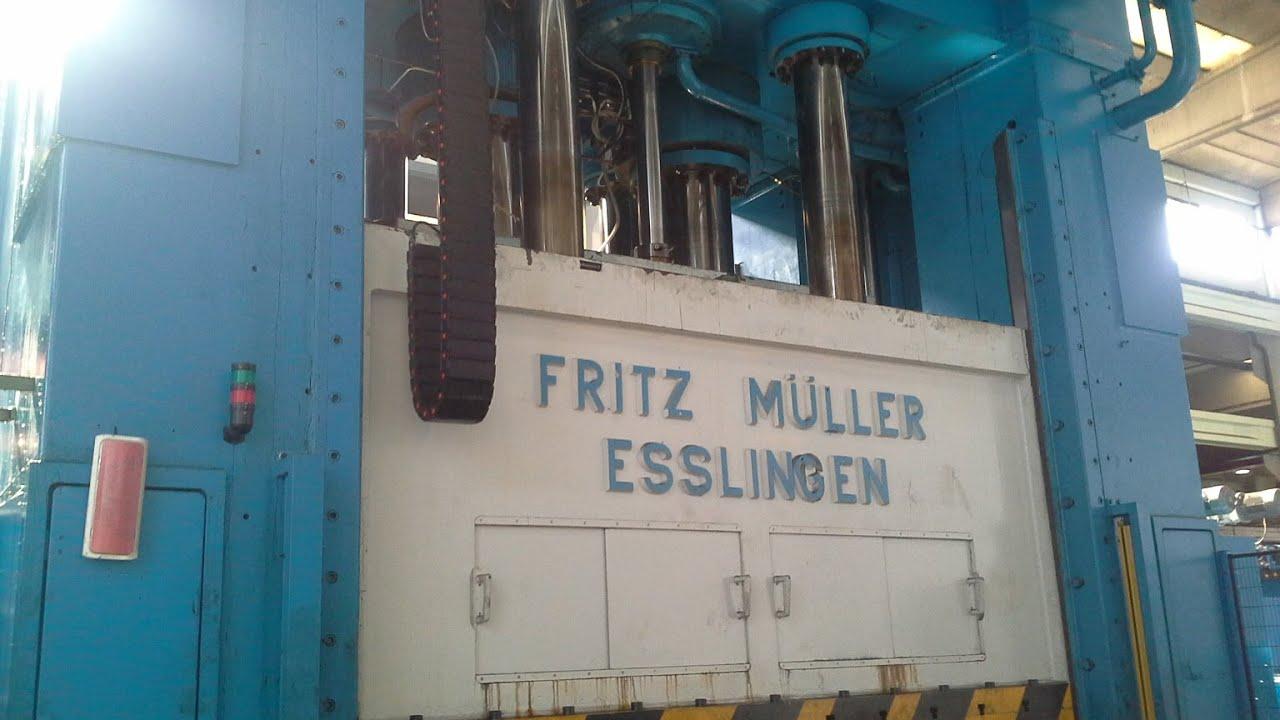 Fritz muller bze 1600 35 pressa usata in vendita youtube - Gartenmobel fritz muller ...