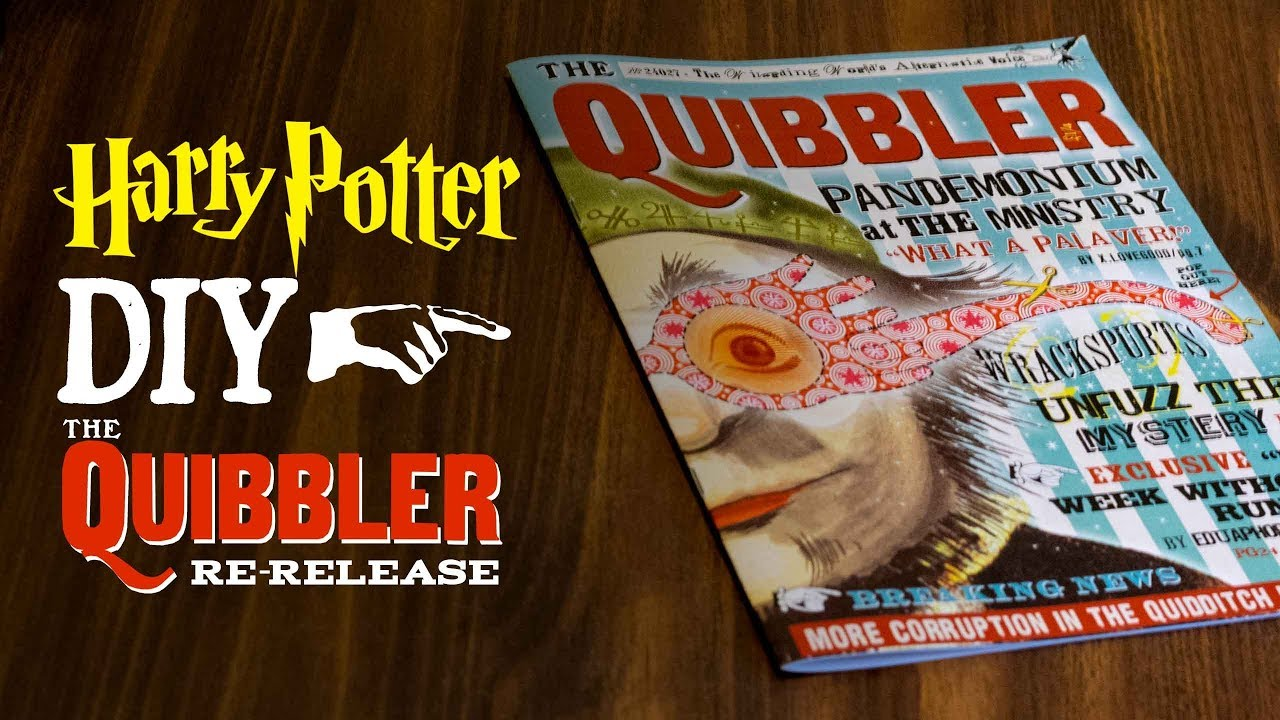 image relating to Quibbler Printable titled Most recent Flicks Website page 2 Muggle Magic