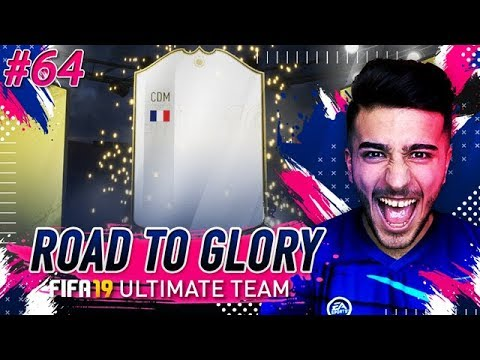 FIFA 19 ROAD TO GLORY 64 - OMG WE GOT PRIME RONALDO & SICK MID ICON SBC