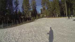 Snow Summit - Ride Down Beginner Slope