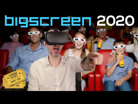 Oculus Quest and Go Bigscreen guide to buying a VR cinema ticket 2020