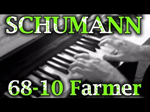 Robert SCHUMANN: Op. 68, No. 10 (The Happy Farmer)