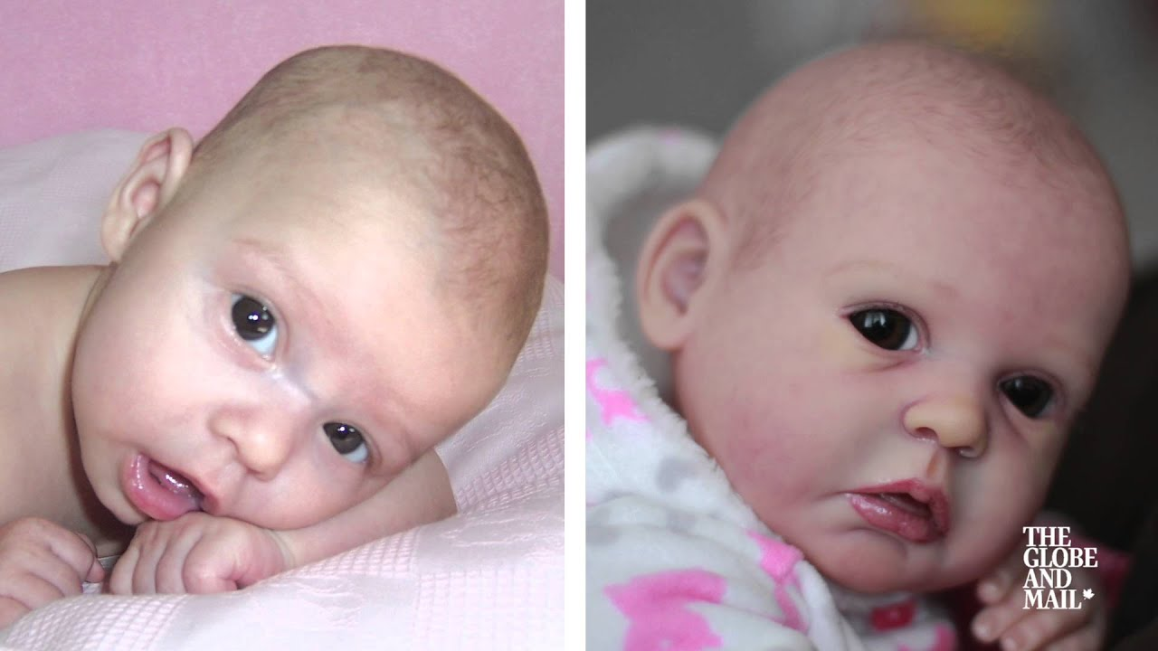 these hyper realistic baby
