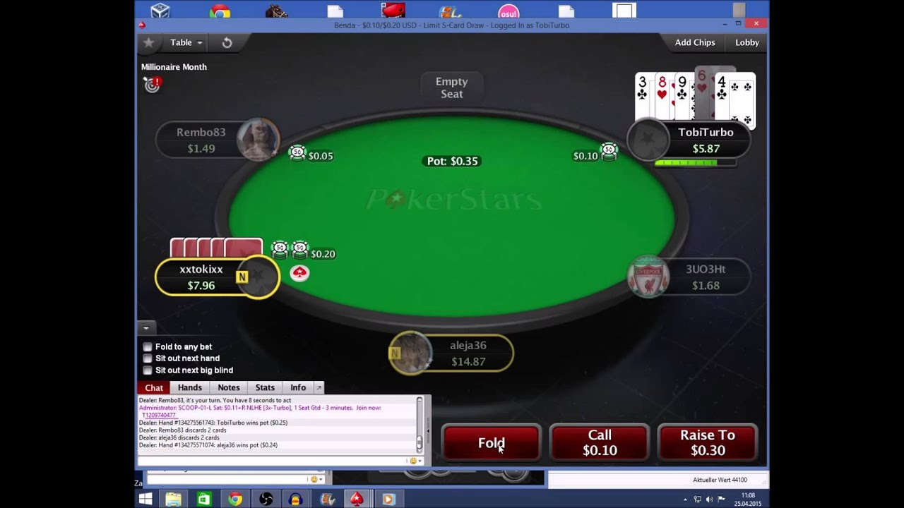 How To Play 5 Card Draw Poker Youtube