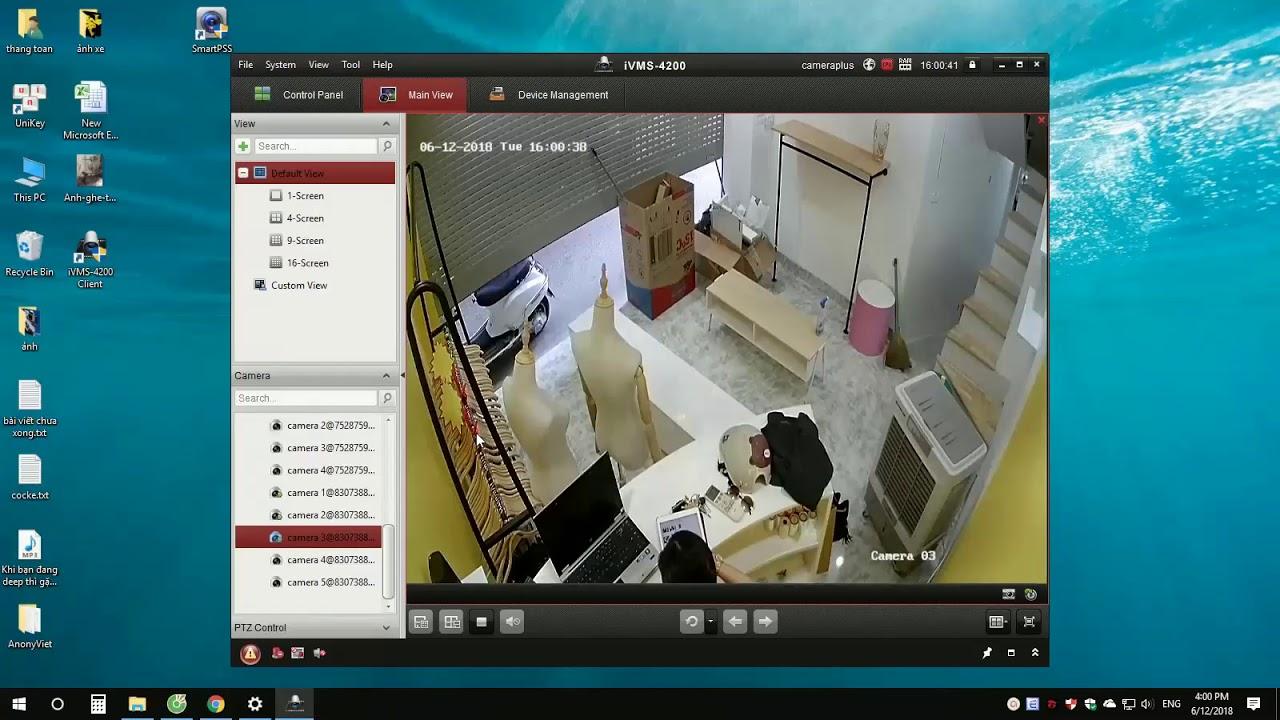 Tải phần mềm xem camera IVMS-4500 cho máy tính – CameraPlus.VN
