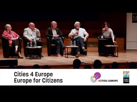 'Cities4Europe – Europe for citizens' launch 7 May 2018 [Promoted]