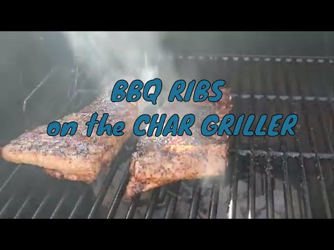 HOW to BBQ RIBS with a CHAR GRILLER