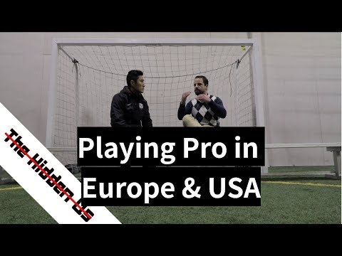 Playing Professional Soccer in Europe and USA