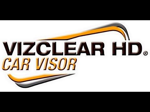 VIZCLEAR HD CAR VISOR - YouTube c01ceef2c27
