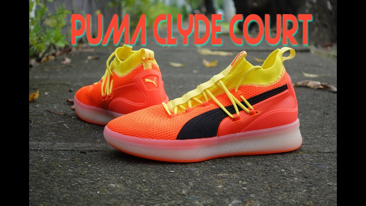1b6d6d24fc9546 PUMA CLYDE COURT DISRUPT PERFORMANCE REVIEW - YouTube
