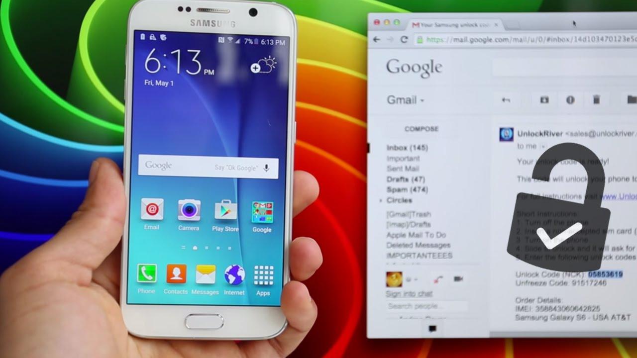 2cbcceb8eca Como Liberar Samsung Galaxy S6 - Para usar con cualquier Chip GSM ...