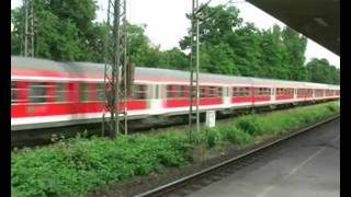 German railway transport system: DB Past & Present