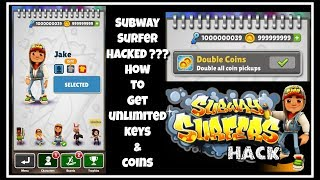 How To Hack Subway Surfer | Get Unlimited Keys And Coins in HINDI(Tutorial)