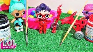 КАК КУКЛА ЛОЛ СТАЛА ЛЕДИ БАГ. #Мультики с куклами ЛОЛ. Видео для детей. #L.O.L. SURPRISE