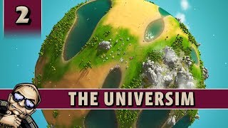 Let's Try: The Universim - God Game - Part 2 [Alpha Gameplay]