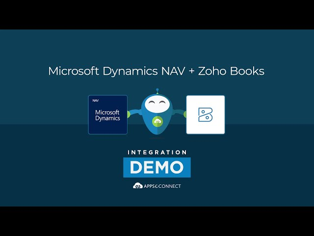 Integrate Microsoft Dynamics NAV and Zoho Books | APPSeCONNECT