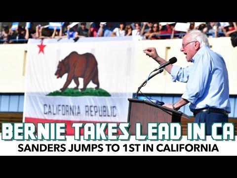 Bernie 2020 Jumps To 1st In California
