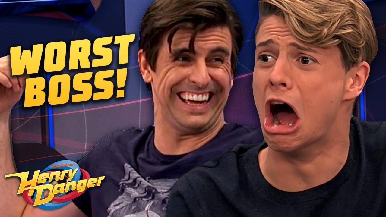 Download Every Time Captain Man Was A HORRIBLE Boss! | Henry Danger