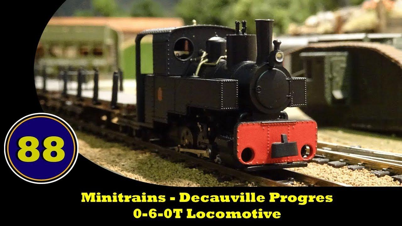 minitrains decauville progres 0 6 0t locomotive youtube