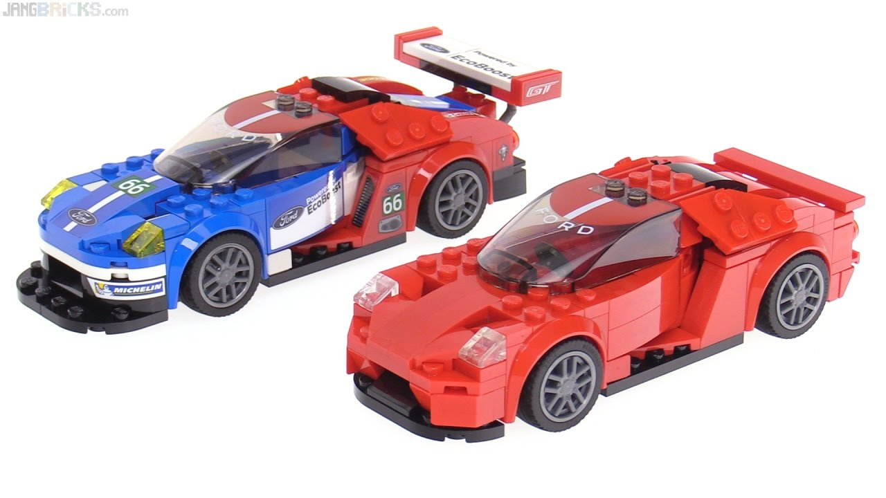 Lego Speed Champions Ford Gt Street Mod