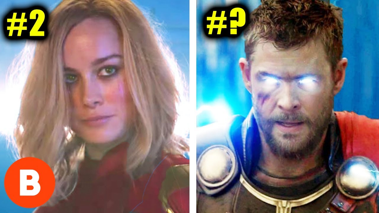 Download The Most Powerful Characters In The Marvel Universe Ranked